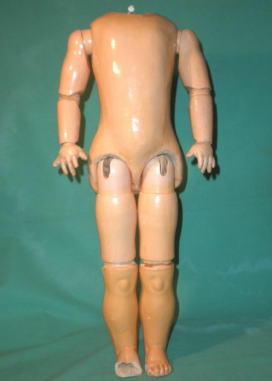 Antique composition doll body body body jointed 15.75  9dc85b