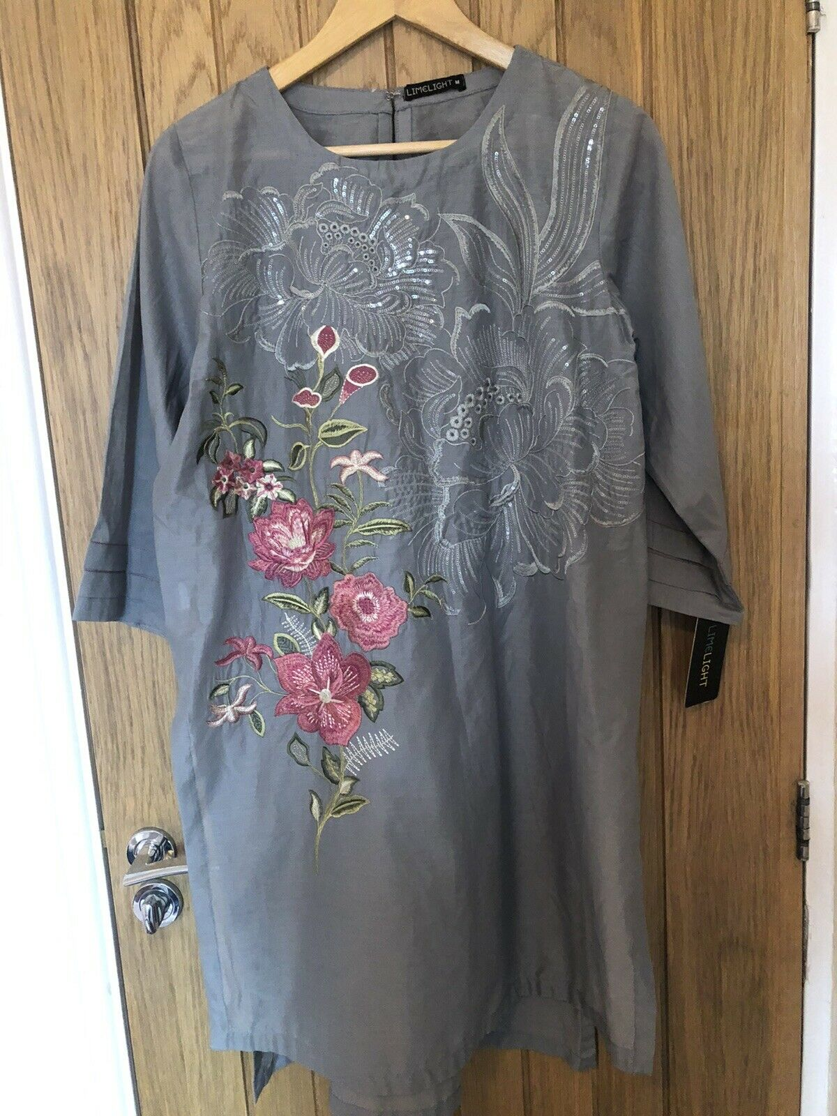 Brand New With Tags 2 Piece Limelight Embroidery Lawn Shirt With Trousers