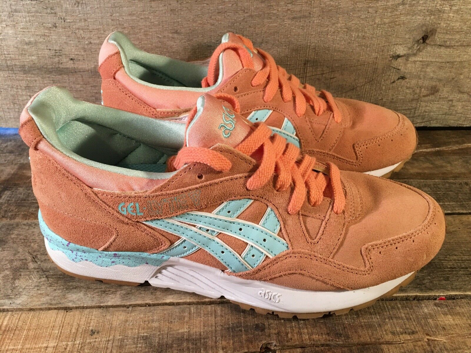 ASICS Gel-Lyt V Easter Pack Coral shoes Size 6.5 H504K