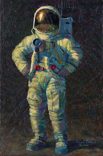 'Who Says Fine Art isn't Affordable?' Alan Bean, Apollo 12 LMP