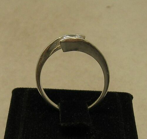 STYLISH STERLING SILVER RING SOLID 925 CZ SIZE 3.5-11 NEW