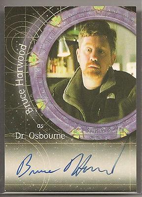 Stargate SG-1 Season 6 Autograph Auto Card A41 Ona Grauer