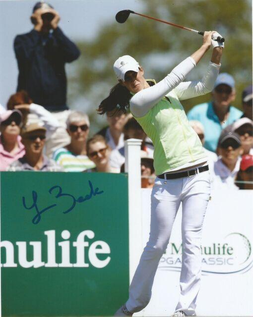 LPGA Laetitia Beck Autographed Signed 8x10 Photo COA D