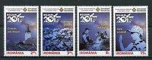 Romania-2017-MNH-ROJAM-6th-Natl-Jamboree-Romanian-Scouts-4v-Set-Scouting-Stamps