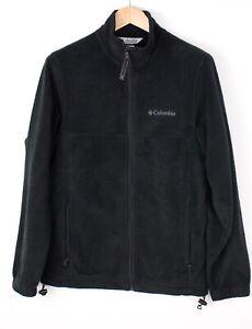 Columbia Herren Freizeit Reißverschluss Fleece Pullover GRÖSSE S ARZ1622