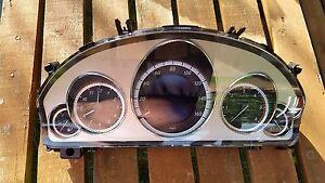 Los-Relojes-Speedo-Cuadro-de-Instrumentos-para-Mercedes-Clase-E-W212-A2129001814