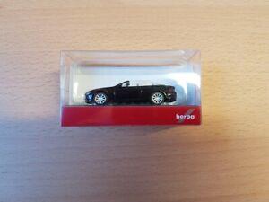 Herpa-023245-002-1-87-bmw-6er-cabrio-negro-nuevo