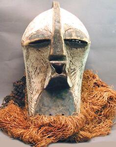 AFRICAN-ORIGINAL-POWERFUL-CEREMONIAL-SONGYE-KIFWEBE-CUBIST-WOOD-MASK-DRCONGO