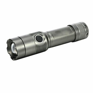 New 10000LM LED Rechargeable Zoom Flashlight Torch + 18650 Battery + US Charger