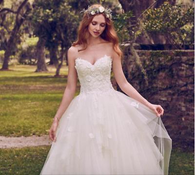 new maggie sottero maura 8mw475 white corset gown