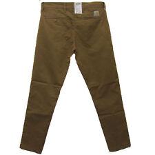 Carhartt Sid Pant Chino Pants Tapered Fit Hamilton Brown W33 L32  £65.00