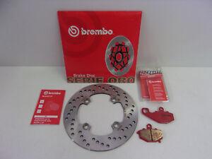 Brembo Bremsscheibe Bremse hinten + Beläge Kawasaki ZX-6 R RR 600 636 ZX-9R 900