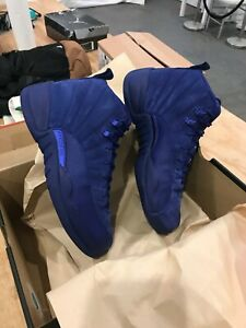 Jordan Xii Retro Profundo Air Azul Real 400 10 o Nike Ds 130690 12 Tama EtHgqtap