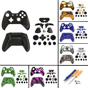 Details about Xbox One Original Replacement Controller Shell Faceplates &  Buttons - No Socket