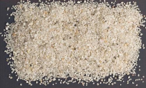 1-25 kg weisser Filtersand Filterkies Filterquarzsand für Sandfilteranlagen