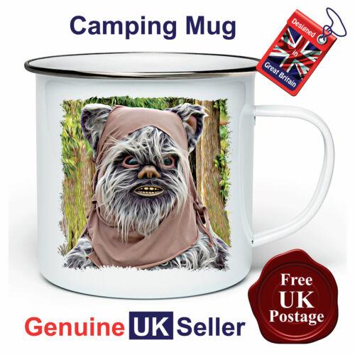 Unofficial Ewok Mug,11oz Enamel Ewok Camping Mug