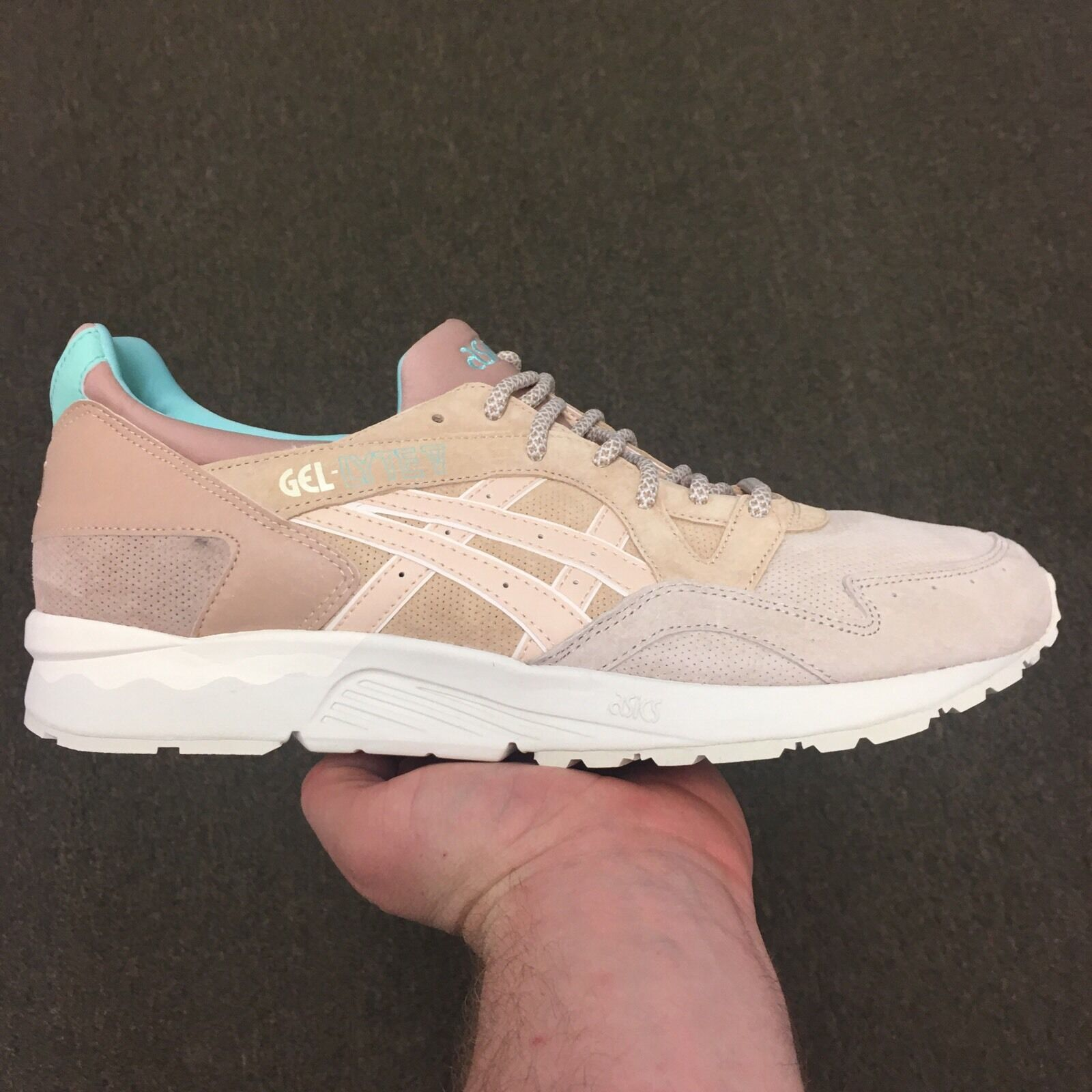 Offspring x Asics Gel Lyte V 5 Cobbled Covent Garden Market Sz 13 H63VK-0505