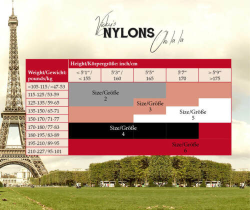 Echte Strapsstrümpfe Nahtstrümpfe Nahtnylons RHT aus Frankreich 100/% Nylon