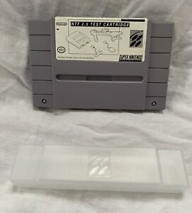 NTF-2-5-Test-Cartridge-For-Super-NES-amp-Accessories-Super-Nintendo-SNES-VERY-RARE