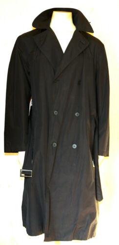 BOTTEGA VENETA MP vintage black trench coat M dist