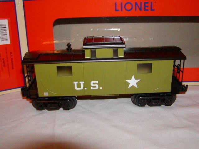 Lionel 6-84780 U.S. Caboose United States of America MIB New 2018