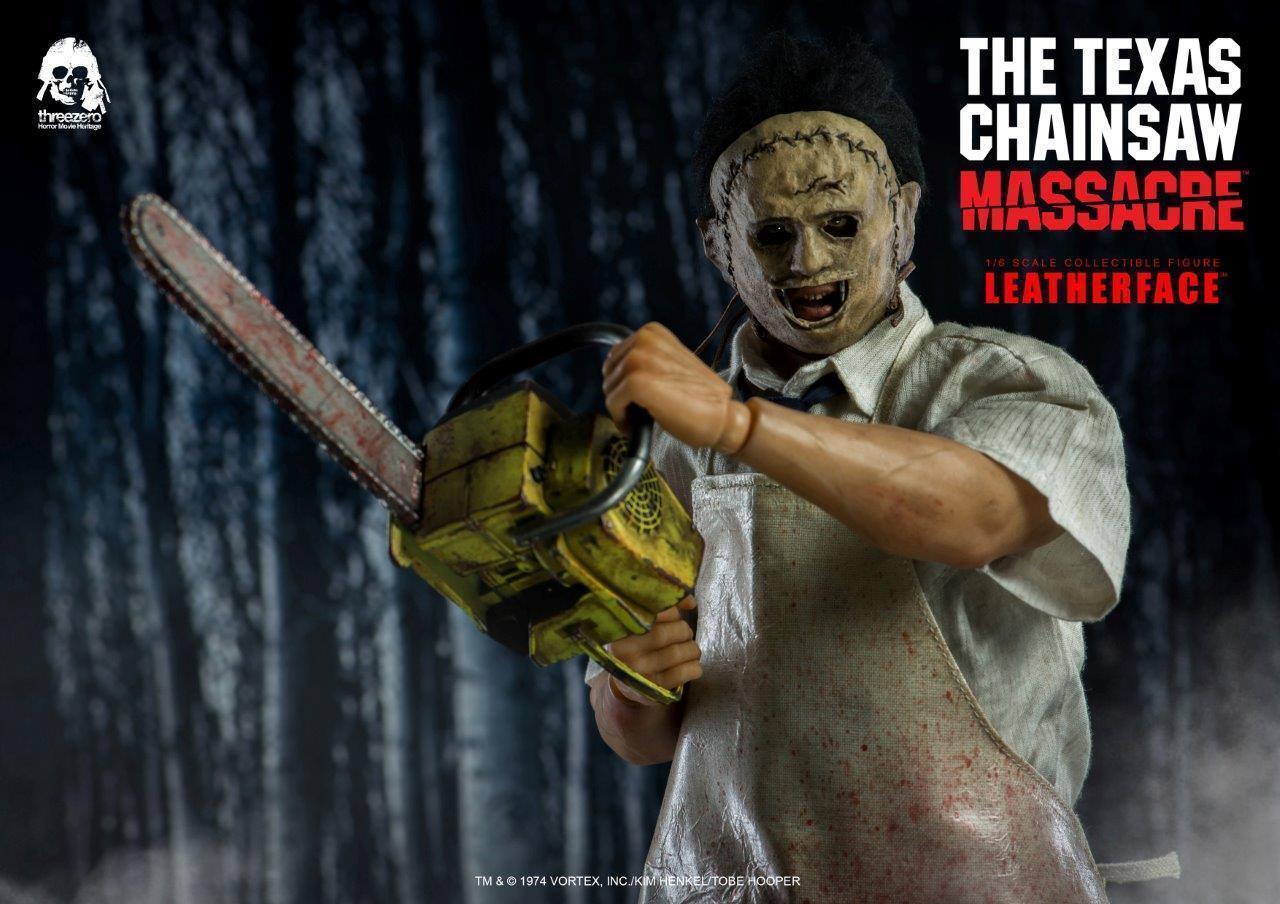 3Z0042 Threezero The Texas Chain Saw Massacre Leatherface 1 6 Figure