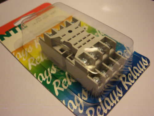 2 PC. NTE R95117 RELAY SOCKET FOR KHU RELAYS P&B 27E894 NEW