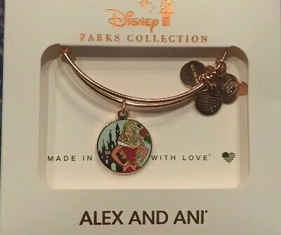 Alex /& ANI Sleeping Beauty Aurora Bangle Bracelet Disney Parks Collection