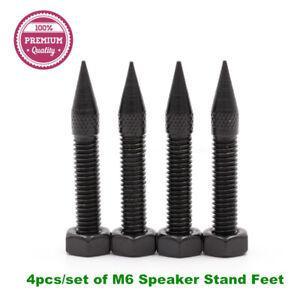 4pcs-of-42mm-M6-Iron-Speaker-Spikes-Hifi-Audio-AMP-Monitor-Isolation-Stand-Feet