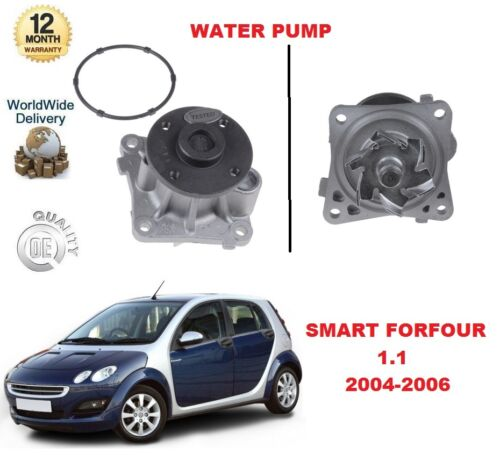 FOR SMART FORFOUR 1.1 454 2004-2006 WATER PUMP