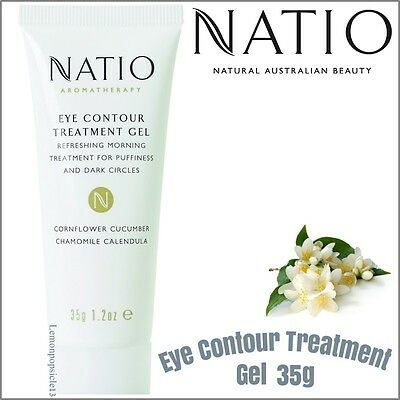 Natio Aromatherapy Eye Contour Treatment Gel 35g Puffiness - Fine Lines