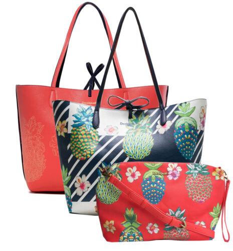 98658c88559 Reversibile Capri Bag Pinacolada Shopper Desigual New 18saxp55 3in1 F1tqY6w5