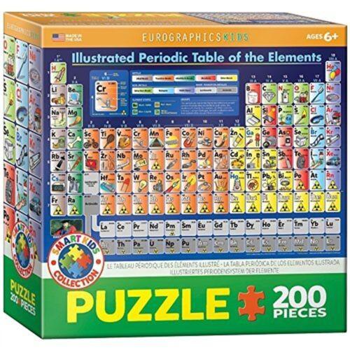 Illustrated Periodic 200piece Eurographics Puzzle 200pc periodic Table