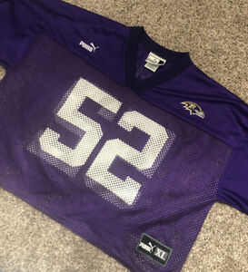 Ray-Lewis-Puma-Practice-Jersey-Size-L-Baltimore-Ravens-Rare