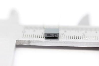 CERAMIC CAPACITOR 104J63 100nF 5/% NOS New Old Stock 4PC C564AU237F060416