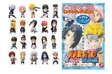 NARUTO HEROES CHARA-PEDIA FIGURE SET 20 PZ. - PLEX
