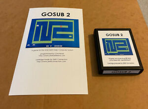 GOSUB-2-Atari-2600-VCS-homebrew-videogame-Video-Computer-System-game-SEQUEL