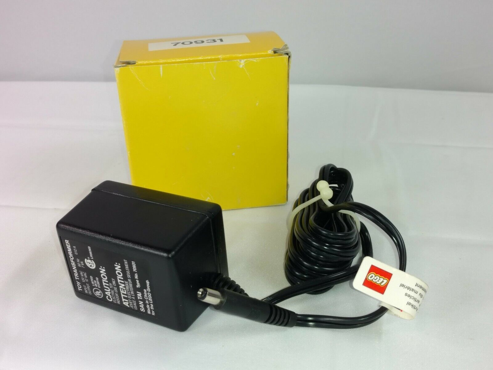 Lego Toy Transformer Power Supply With Box - Never Used - AC Adapter
