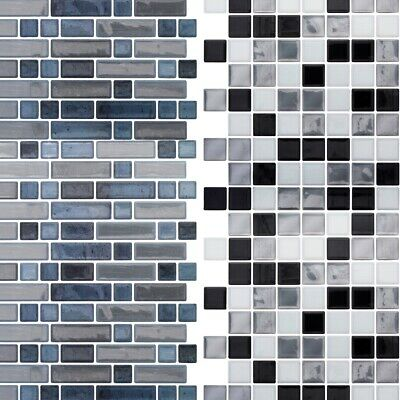 faux wall tiles adhesive vinyl panel modern removable
