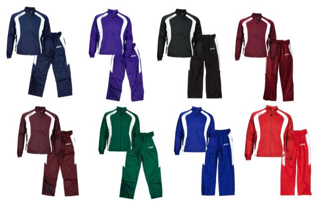 cf537f299dcdf Asics Caldera Men's Athletic Warm Up Jacket and Pants Set - Many Colors