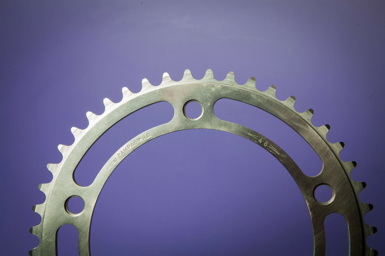 Campagnolo 151 BCD Record Track Chainring 48T PISTA  1 8  Vintage Early NOS