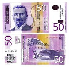 Serbia 50 Dinara Uncirculated 2011 Note
