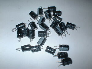 8 NEW RUBYCON TWSS 220UF//6.3V 220 MFD RADIAL ELECTROLYTIC CAPACITOR CAP 85*C USA