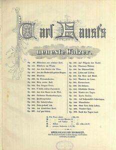 034-Maerchen-aus-schoener-Zeit-034-Walzer-von-Carl-Faust-Op-96-alte-Noten-uebergross