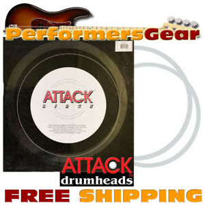 attack upor15 15 clear sound tone control ring for snare tom drum heads 660181161114 ebay. Black Bedroom Furniture Sets. Home Design Ideas