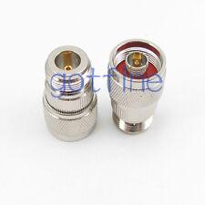 N male Plug to N female jack Straight RF connector adapter