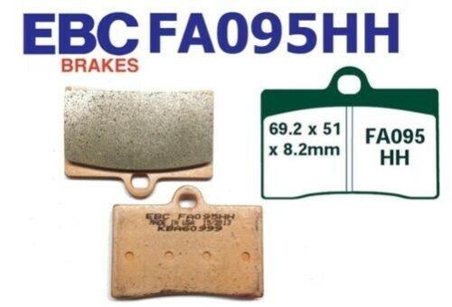 EBC Garnitures de Frein Fa095hh Essieu avant Compatible Ducati 907 C/'Est à Dire