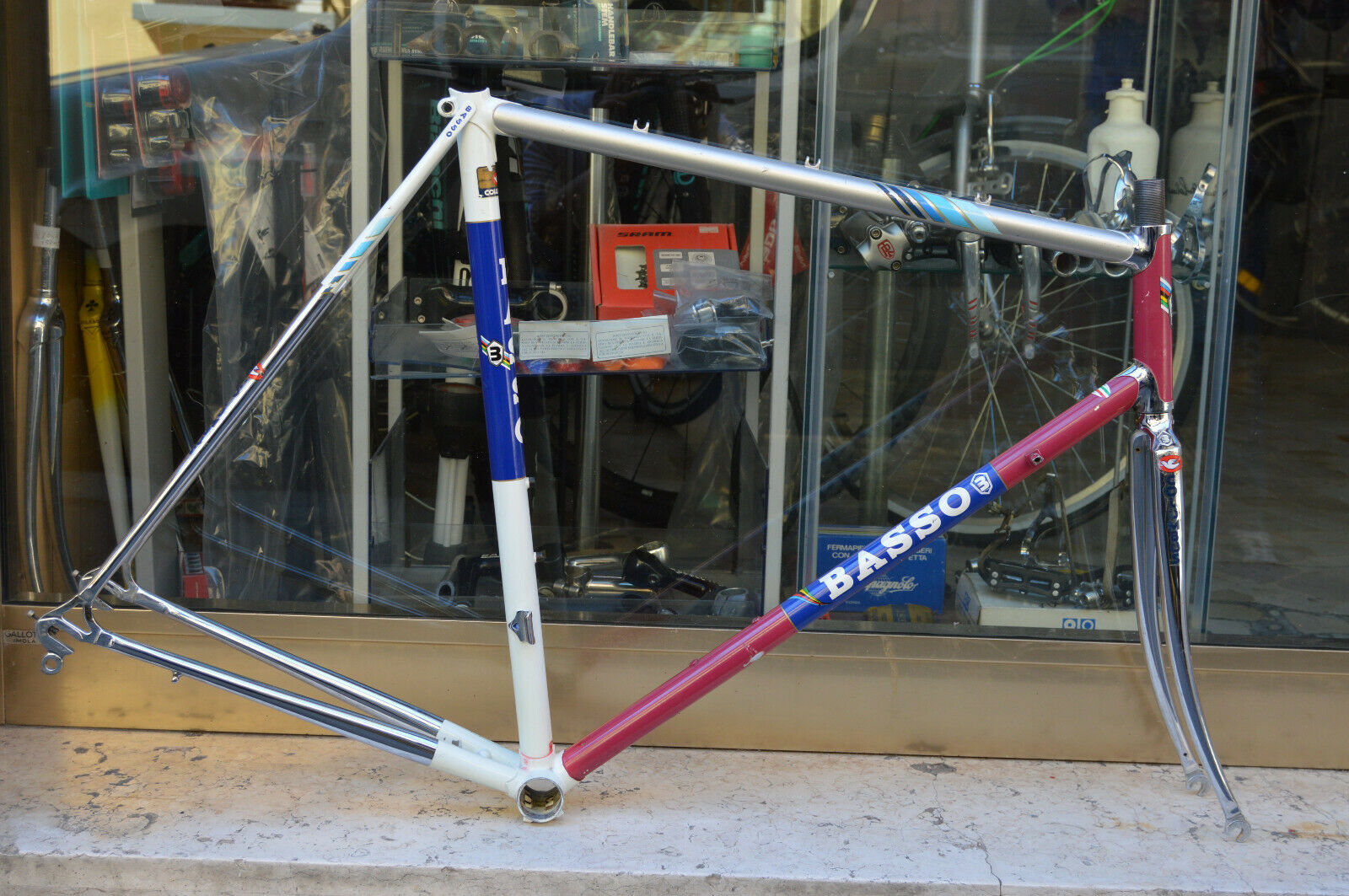 Telaio Basso Steel Frame 57x58cm Palmiro Masciarelli vintage in ottime condizion