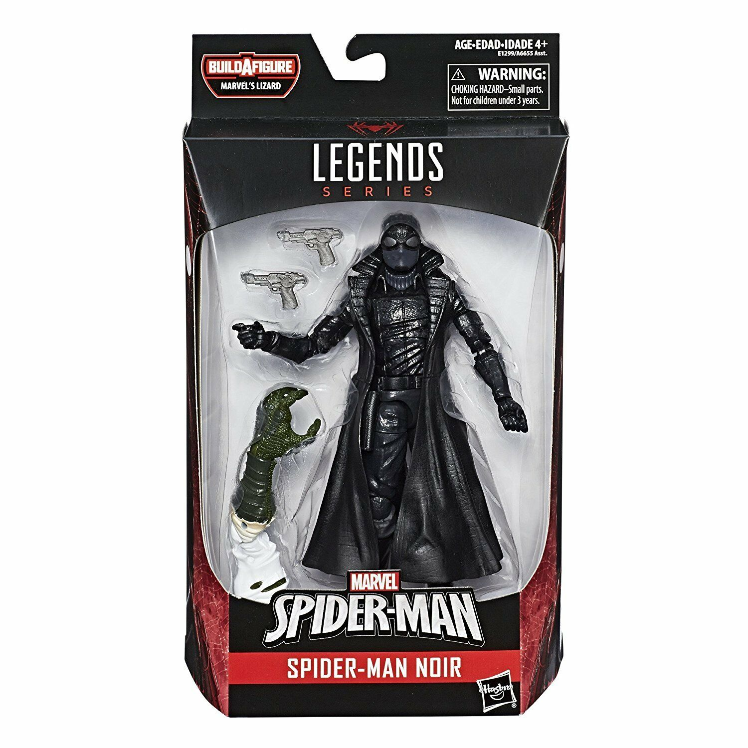 MARVEL LEGENDS LEGENDS LEGENDS SPIDER-uomo nero BUILD A cifra MARVEL'S LIZARD BAF UNOPENED da933d