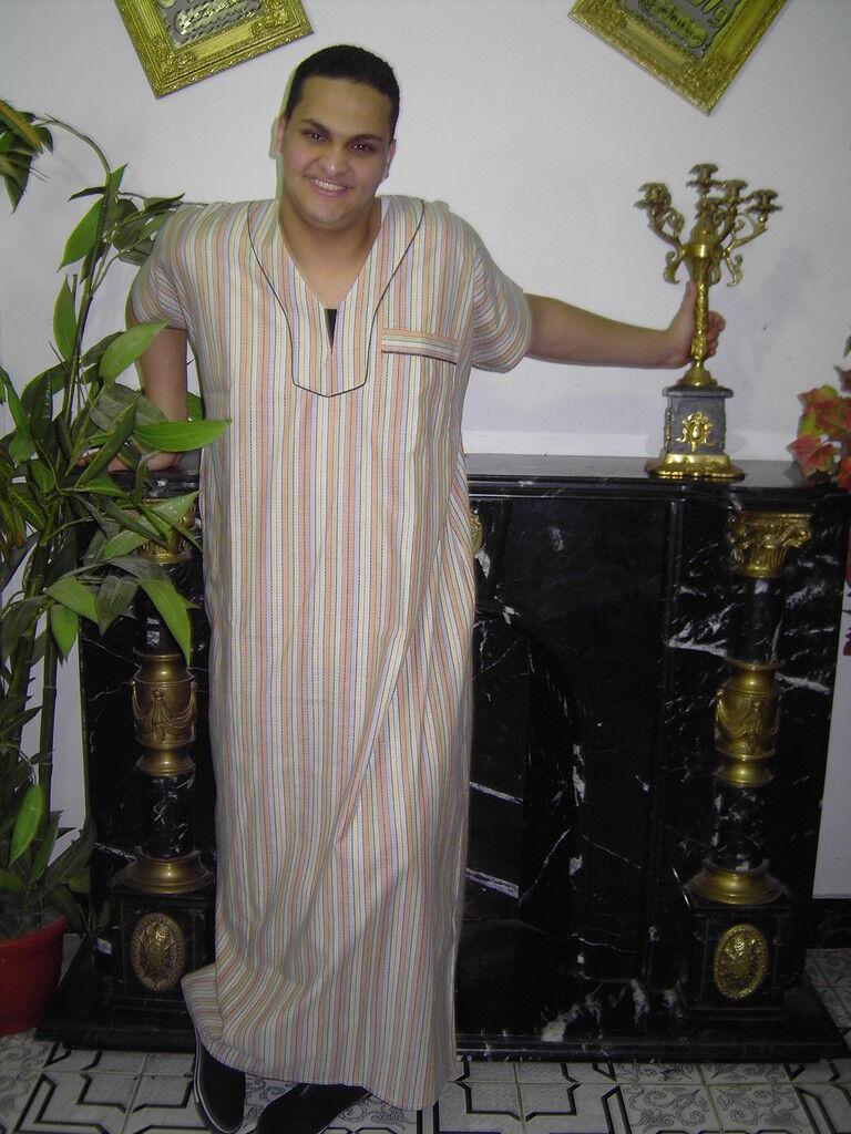 Herren Kaftan Tunika Hauskleid Strandkleid Sommerkleid Nachthemd Nachthemd Nachthemd Orient -425 | eine große Vielfalt  9bff72